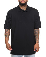 Men - Basic Solid Pique S/S Polo (B&T)