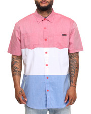 Button-downs - Tri Color S/S Button-Down (B&T)
