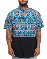 Button-downs - Aztec S/S Button-Down (B&T)