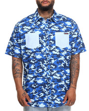 Button-downs - Camo S/S Button-Down (B&T)