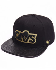 Men - Cleveland Cavaliers Constrictor Metallic 47 Captain Snapback Cap