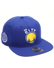 Men - Golden State Warriors Sure Shot 47 Captain Snapback Cap