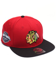 Men - Chicago Blackhawks Sure Shot 47 Captain Snapback Cap