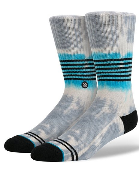 Stance Socks Men Angler Socks Grey Large