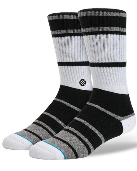 Stance Socks Men Lowell 2 Socks Black Large