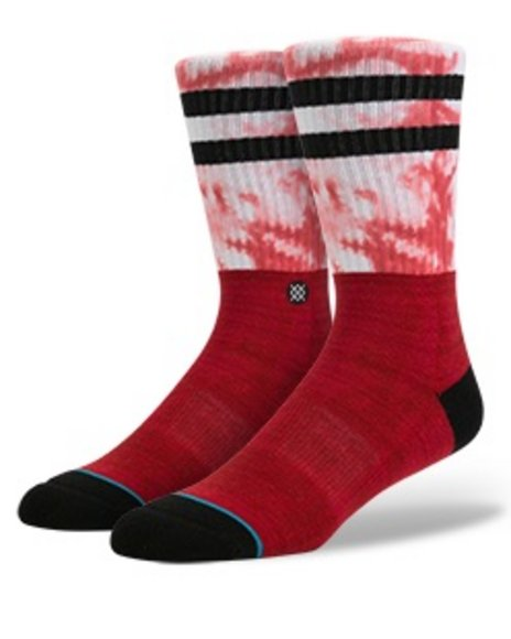 Stance Socks Men Raster Socks Red Large