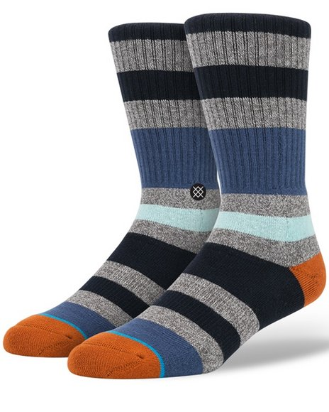Stance Socks Men Howe Socks Blue Medium