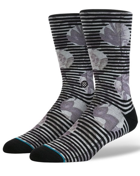 Stance Socks Men Blotter Socks Off White Large