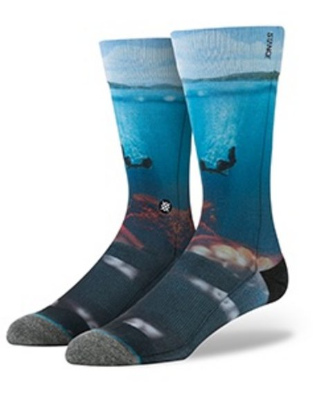 Stance Socks Men Surreal Socks Blue Large