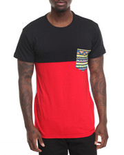 Basic Essentials - Ornate Pocket Two - Color S/S Tee