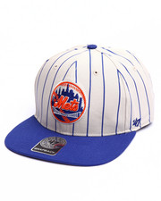 Men - New York Mets Pinstripe 47 Captain Snapback Cap