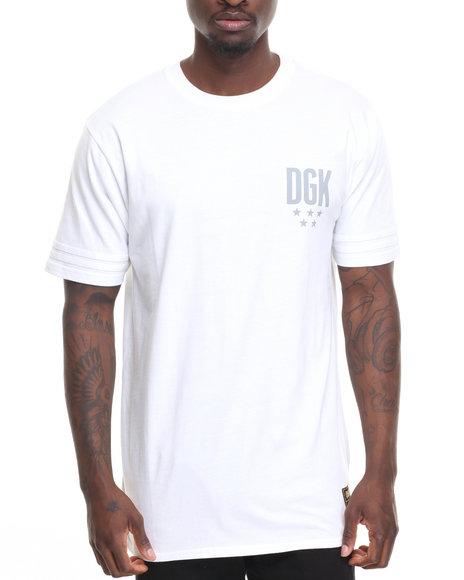 Dgk Men Never Enough Custom Knit Tee White Medium