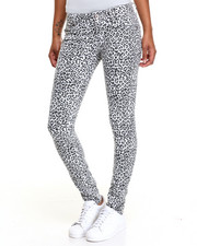 Basic Essentials - Cheetah Print Skinny Jean