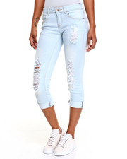 Fashion Lab - Destructed Stretch Anklet Skinny Jean