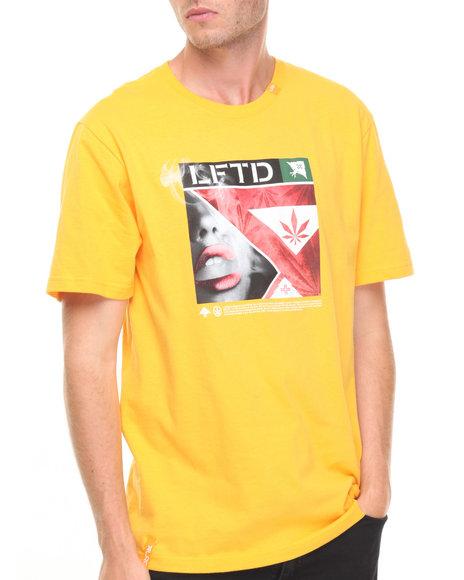 Lrg Men Inhale Exhale T-Shirt Khaki Medium