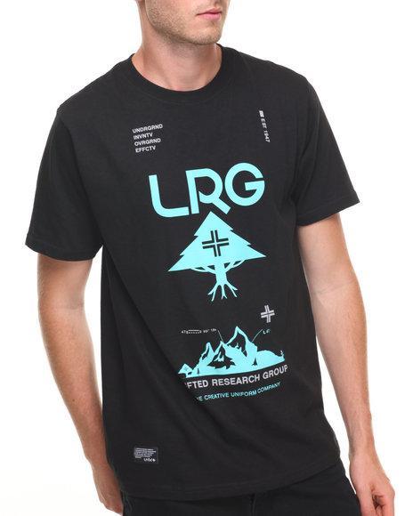 Lrg Men Ascend T-Shirt Black Medium