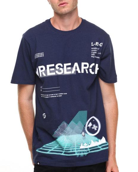 Lrg Men Interelevation T-Shirt Navy Small