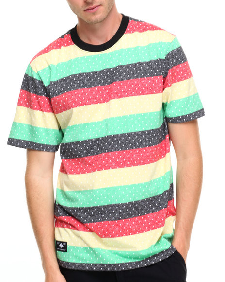 Lrg Men Spotty Dotty T-Shirt Black Medium