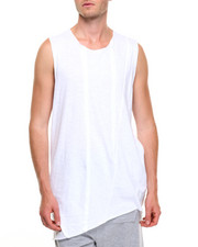 Men - Cut off Asymetrical Tank