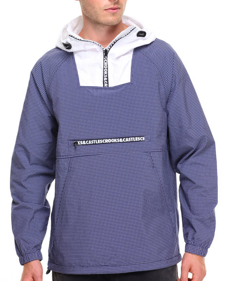 Crooks & Castles Men Powder Anorak Navy XLarge