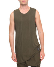 Shirts - Cut off Asymetrical Tank