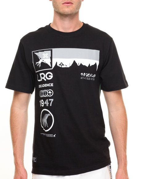 Lrg Men Decadence T-Shirt Black X-Large
