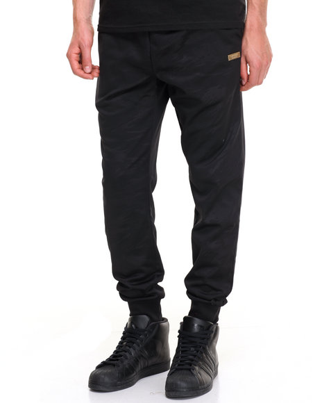 Crooks & Castles Men Spotter Sweatpants Black Large