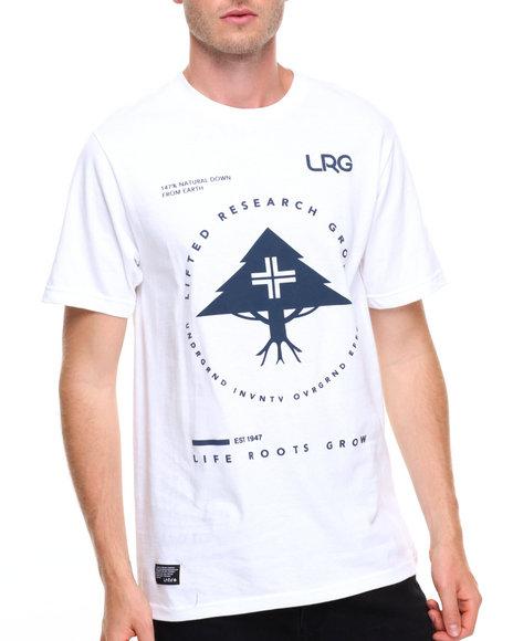 Lrg Men Rc Pinnacle T-Shirt White X-Large