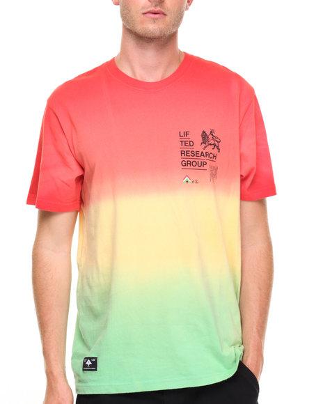 Lrg Men Roots Rock T-Shirt Red Small