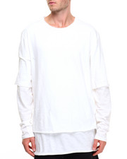 Shirts - DBL Layer L/S Gauze Tee