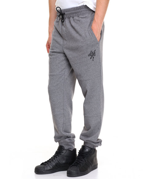 Dgk Men School Yard Fleece Pants Grey 3X-Large