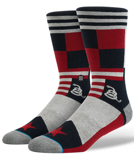 Stance Socks Men Colbert Socks Red Large