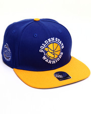 Men - Golden State Warriors Sure Shot Two Tone 47 Captain Snapback Cap