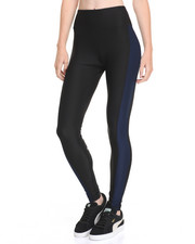 Leggings - Colorblock Zip Back Pocket Performance Legging