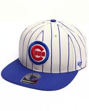 Men - Chicago Cubs Pinstripe 47 Captain Snapback Cap