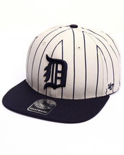 Men - Detroit Tigers Pinstripe '47 CAPTAIN Snapback Cap