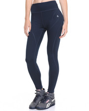 Leggings - Princess Seams Reflective Back Zip Pockets Performance Legging