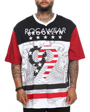 Rocawear - Patriot S/S Knit Tee (B&T)