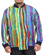COOGI - COOGI SWEATER - PRINT SILK BOMBER JACKET (B&T)