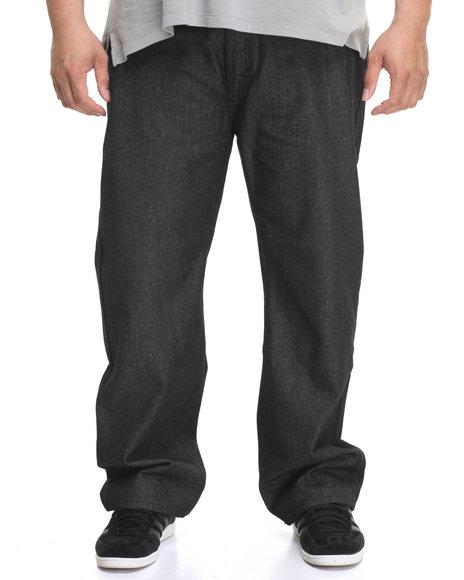 Rocawear Men Volume R-Script Jeans (B&T) Black 46x32