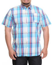 Button-downs - S/S Plaid Button-Down (B&T)