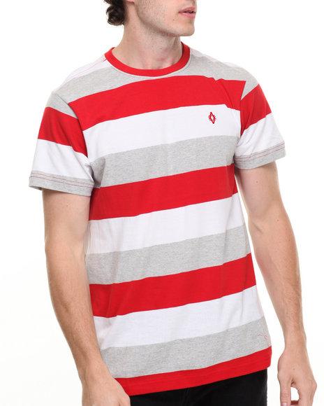 Akademiks Men Blaze T-Shirt Red Medium