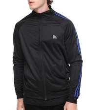 Basic Essentials - Basic Two - Stripe Slim - Fit Track Jacket