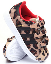 Girls - Superstar CMF C Leopard Sneakers (11-3)