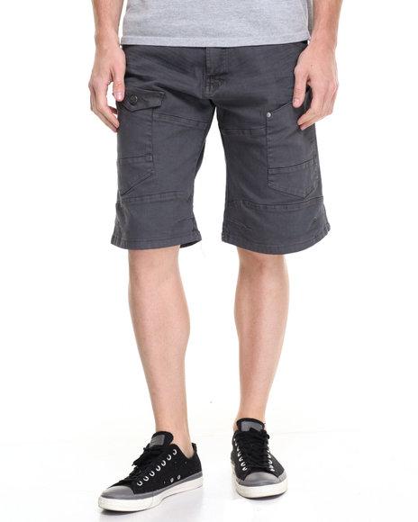 Akademiks Men Luke Slub Short Grey 34