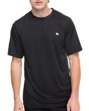 Men - Basic Performance S/S Tee with White Piping