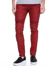 Jeans & Pants - Moto Zipper Twill Pants