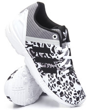 Footwear - ZX Flux Split K Leopard Sneakers (3.5-7)