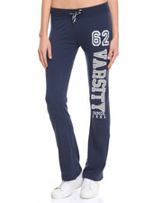 Bottoms - Varsity Bling French Terry Active Pant