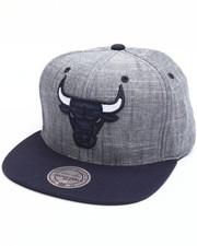 Mitchell & Ness - Chicago Bulls Slub Linen Snapback Cap